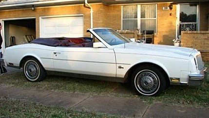 1981 Buick Riviera Coupe for sale 100722323