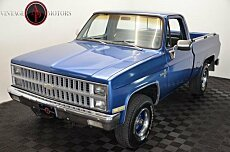 1981 Chevrolet C/K Truck 4x4 Regular Cab 1500 for sale 101013961