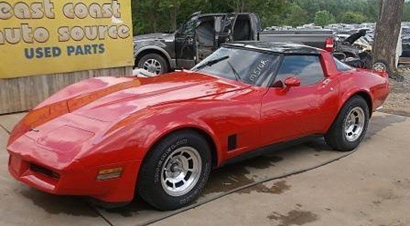 1981 Chevrolet Corvette Coupe for sale 100293286