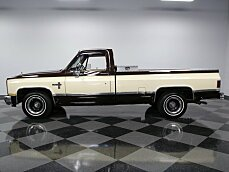 1981 Chevrolet Silverado and other C/K1500 2WD Regular Cab for sale 100821197