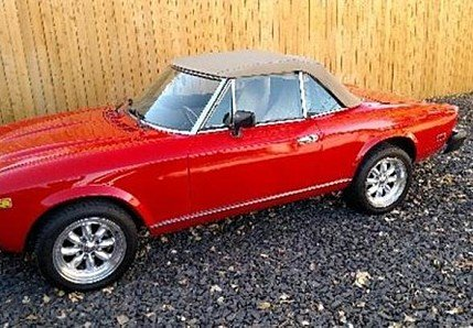 1981 FIAT 2000 Spider for sale 100832434