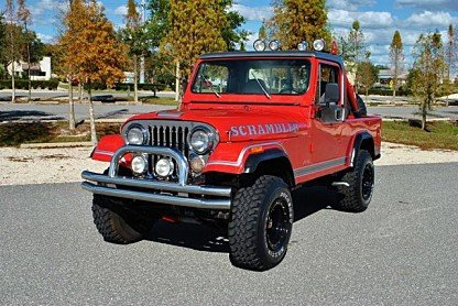 1981 Jeep Scrambler for sale 100842533