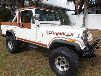 1981 Jeep Scrambler for sale 100953877