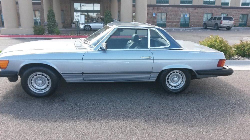 1981 mercedes 380slc value