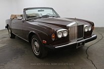 1981 Rolls-Royce Corniche for sale 100724610