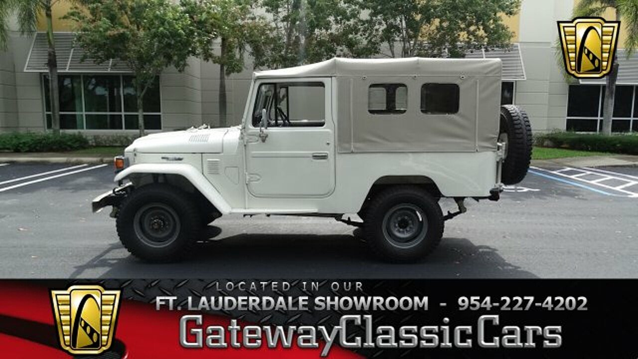 1981 Toyota Land Cruiser for sale 100988110