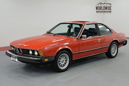 1982 BMW 633CSi Coupe for sale 101018951