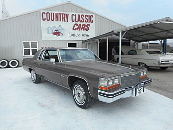 1982 Cadillac De Ville for sale 100748934