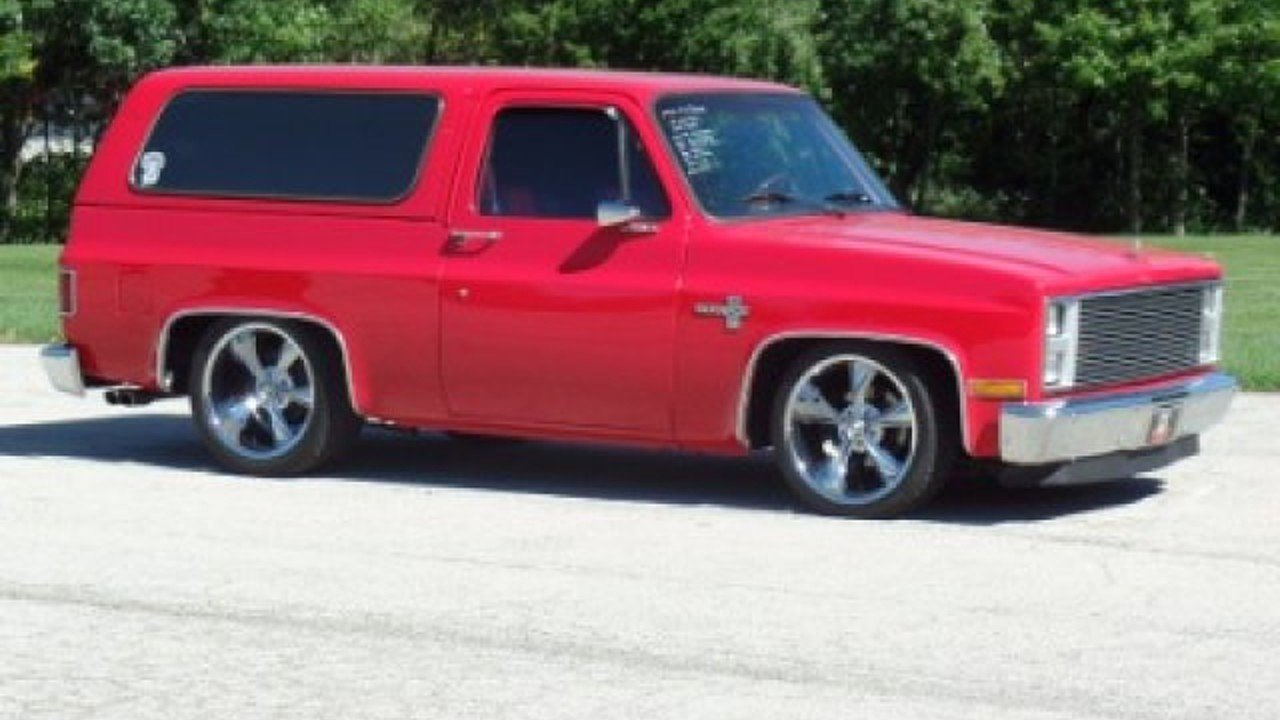 1982 Chevrolet Blazer 2WD for sale 100814726