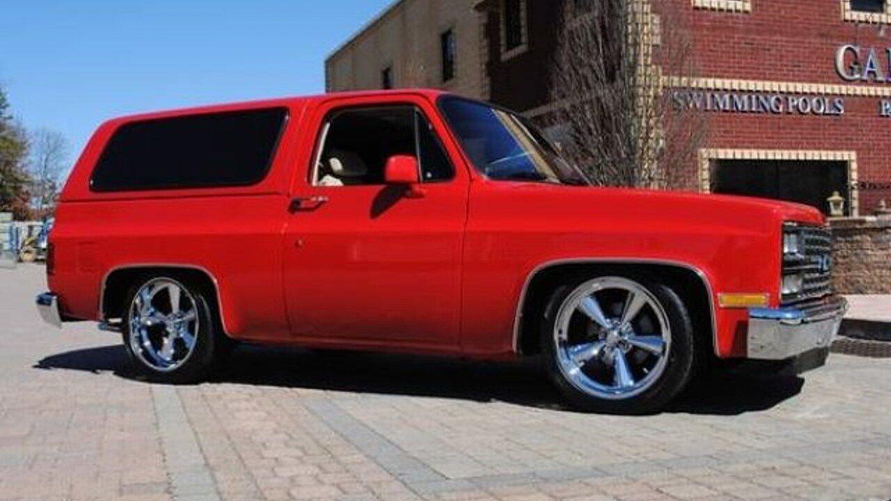 1982 Chevrolet Blazer for sale near Cadillac, Michigan 49601 ...