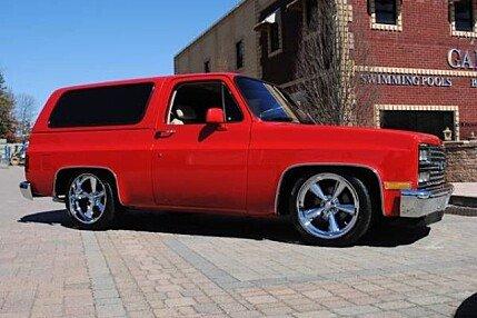 1982 Chevrolet Blazer for sale 100858980