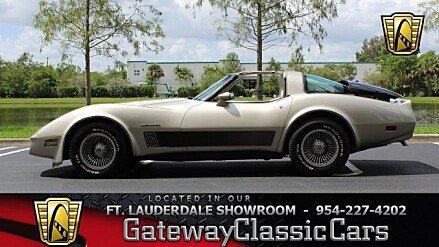 1982 Chevrolet Corvette Coupe for sale 101001391