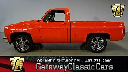 1982 Chevrolet Silverado and other C/K1500 2WD Regular Cab for sale 100835758