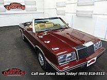 1982 Chrysler LeBaron Convertible for sale 100774224