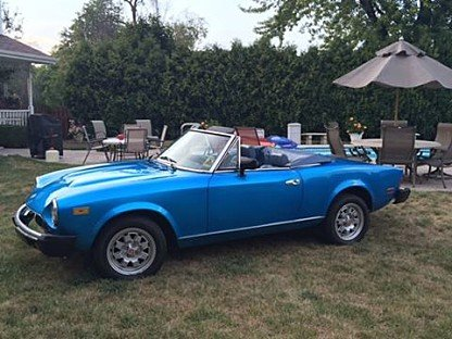 1982 FIAT 2000 Spider for sale 100819119