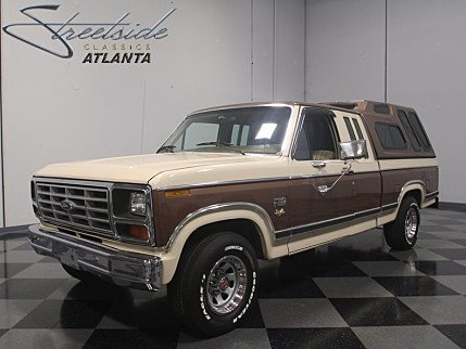 1982 Ford F150 2WD SuperCab for sale 100901187