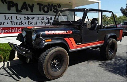 1982 Jeep Scrambler for sale 100910701