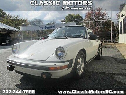 1982 Porsche 911 SC Targa for sale 100832650