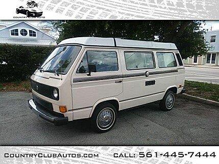 1982 Volkswagen Vanagon Camper for sale 100979982