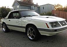 1983 Ford Mustang Convertible for sale 100910487