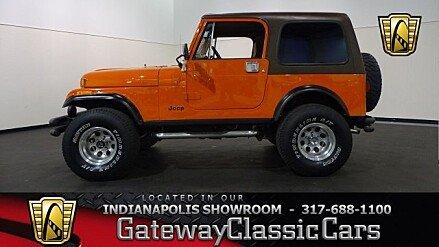 1983 Jeep CJ 7 for sale 100988608