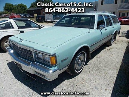 1983 chevrolet Caprice Classic Wagon for sale 101017320