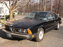 1984 BMW 633CSi Coupe for sale 100833982