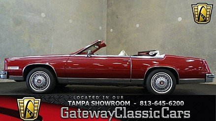 1984 Cadillac Eldorado Biarritz Convertible for sale 100778053
