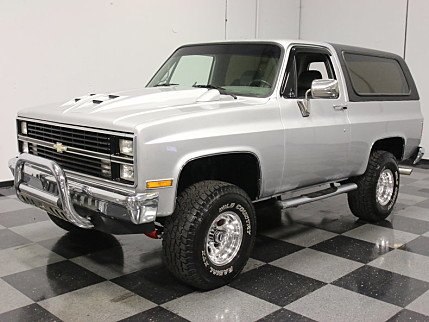1984 Chevrolet Blazer 4WD for sale 100760410