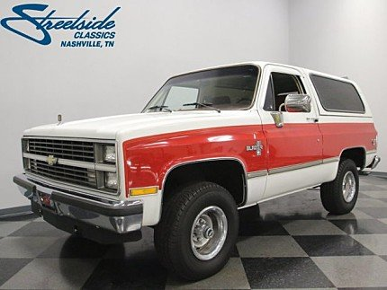 1984 Chevrolet Blazer for sale 100947718