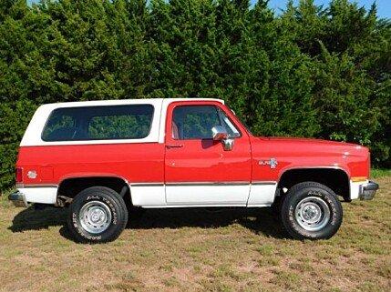 0b5abbbddb 1984 Chevrolet Blazer Classics for Sale - Classics on Autotrader