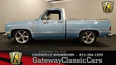1984 Chevrolet Silverado and other C/K1500 2WD Regular Cab for sale 100863360