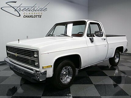 1984 Chevrolet Silverado and other C/K1500 2WD Regular Cab for sale 100887534