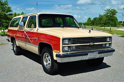 1984 Chevrolet Suburban 2WD 2500 for sale 100777032