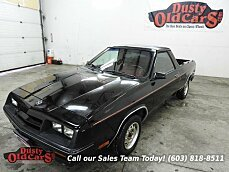 1984 Dodge Rampage for sale 100731615