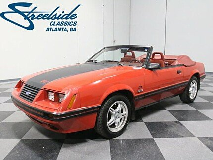 1984 Ford Mustang GLX V8 Convertible for sale 100945748