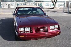 1984 Ford Mustang GLX V8 Convertible for sale 100965940