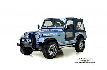 1984 Jeep CJ 7 for sale 100860465