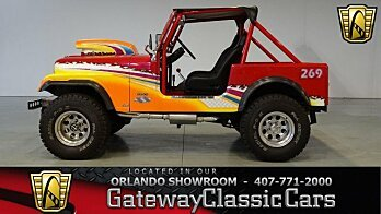 1984 Jeep CJ 7 for sale 100929684