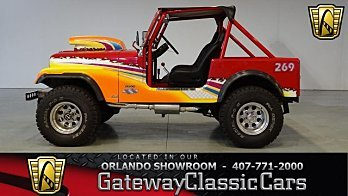 1984 Jeep CJ 7 for sale 100949477