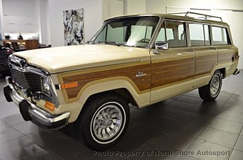 1984 Jeep Grand Wagoneer for sale 100924707