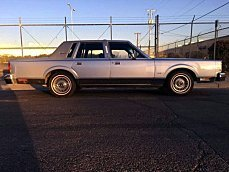 1984 Lincoln Town Car for sale 100960305