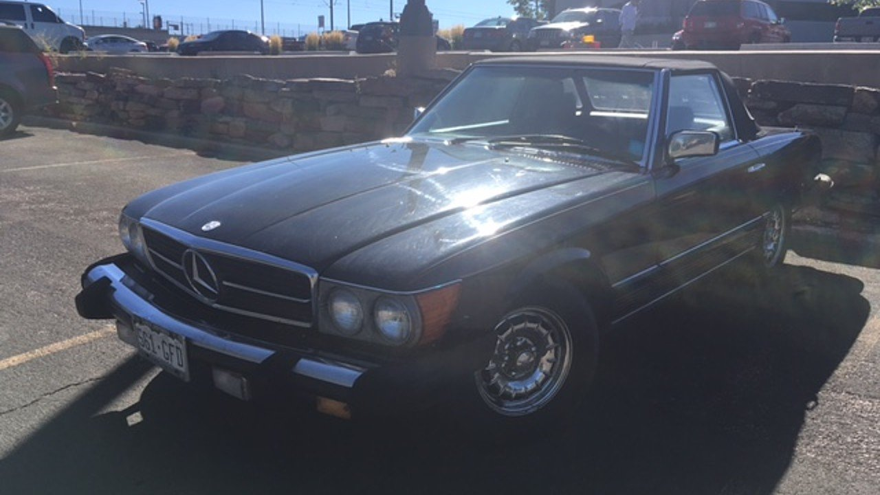 1984 Mercedes-Benz 380SL for sale 100905659