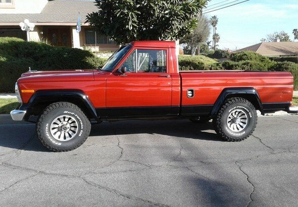 1984 Jeep Pickup For Sale 100967584