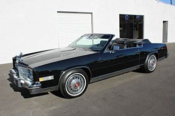 1985 Cadillac Eldorado Coupe for sale 100724505