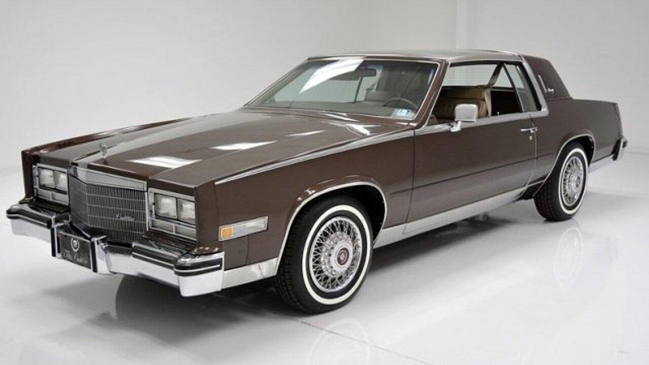 1985 Cadillac Eldorado Coupe for sale 100992169