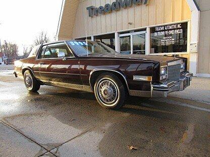 1985 Cadillac Eldorado Coupe for sale 100954094