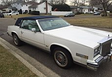 1985 Cadillac Eldorado Coupe for sale 100959496