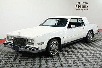 1985 Cadillac Eldorado Coupe for sale 100960538