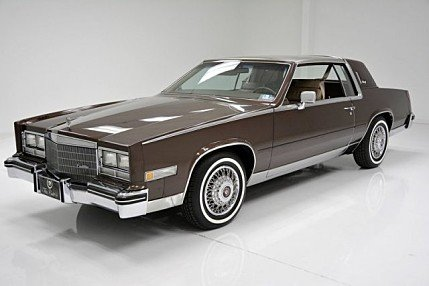 1985 Cadillac Eldorado Coupe for sale 100992169